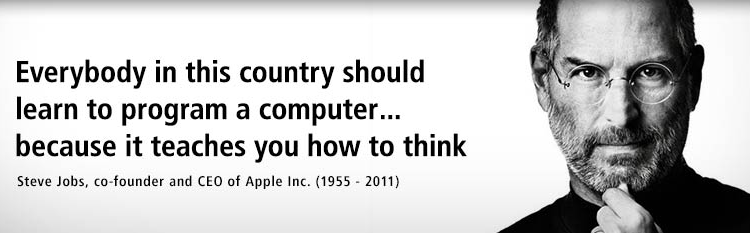 Steve Jobs on learning to program